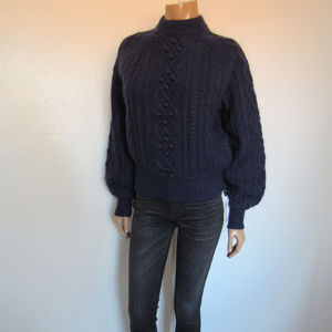 DemyLee x J.Crew Chunky Balloon Sleeve Sweater NWT